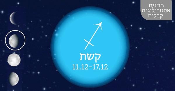 תחזית אסטרולוגיה קבלית 11.12.16 - 17.12.16 / יעל ירדני