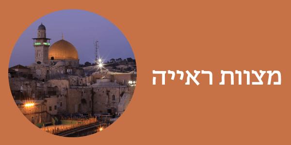 מצוות ראייה - הילולת הרב ברנדווין יח' בניסן
